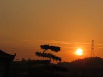 夕阳西下的时刻