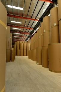 纸箱原料仓库