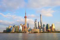 上海陆家嘴现代化建筑群