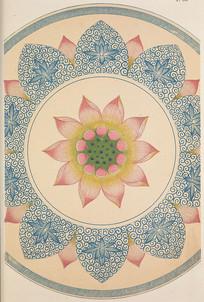 中国纹样集锦 -荷花图案