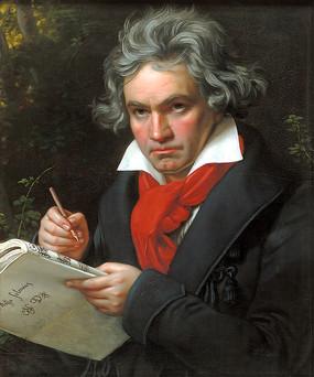 贝多芬画像