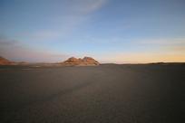 国家地理雅丹地质公园日出