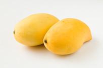黄色的芒果
