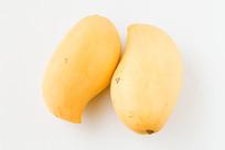 芒果白背景图片