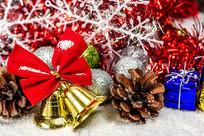 圣诞节铃铛背景