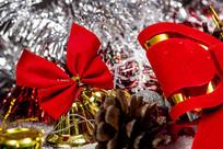 圣诞节装饰特写