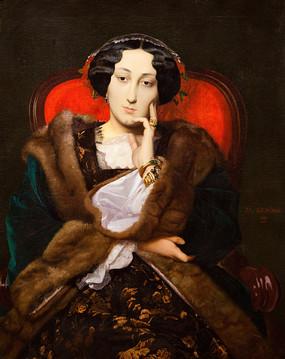 埃及女人的初衷油画