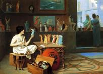 绘画将生命力融入雕塑油画