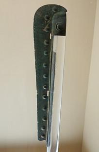 西周早期圆珠纹刀