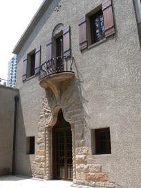 别墅斜侧面