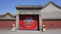 藏族版画铁门