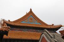 大昭寺雕龙纹屋顶