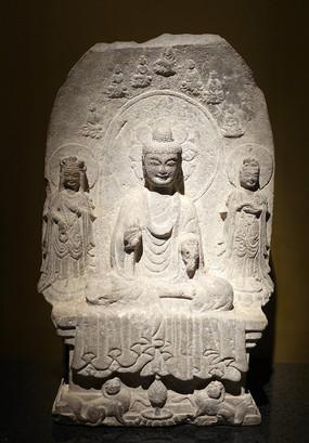 南朝释迦佛石像