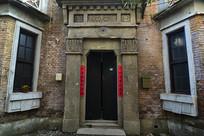 中式住宅大门
