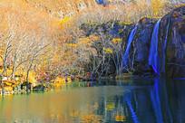 长白山自然保护区绿渊潭
