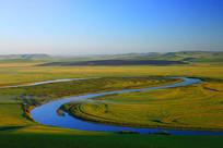 额尔古纳河太极湾