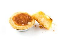 风味小吃原味椰子饼白底图