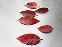 红叶静物图