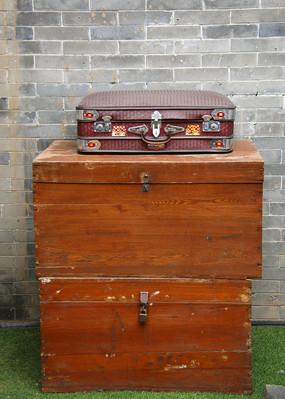 老物件木箱子