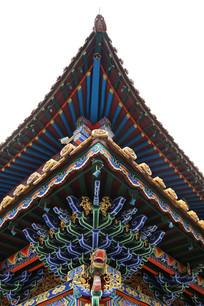 龙头卯榫结构传统飞檐
