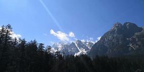 美丽的玉龙雪山