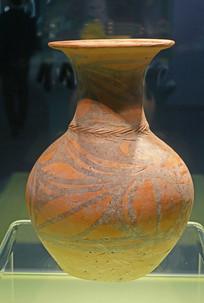 彩陶鸟纹壶(石岭下类型)