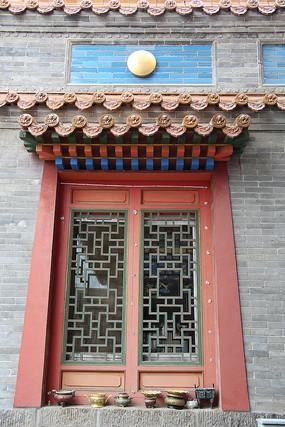 藏式红窗户