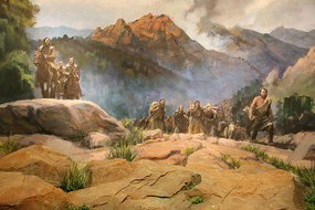 蒙古人骑马狩猎迁徙情景复原