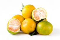蜜橘白底图片
