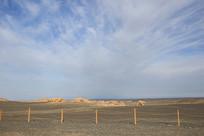 雅丹地质公园入口全景