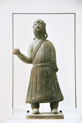 元代陶俑蒙古人