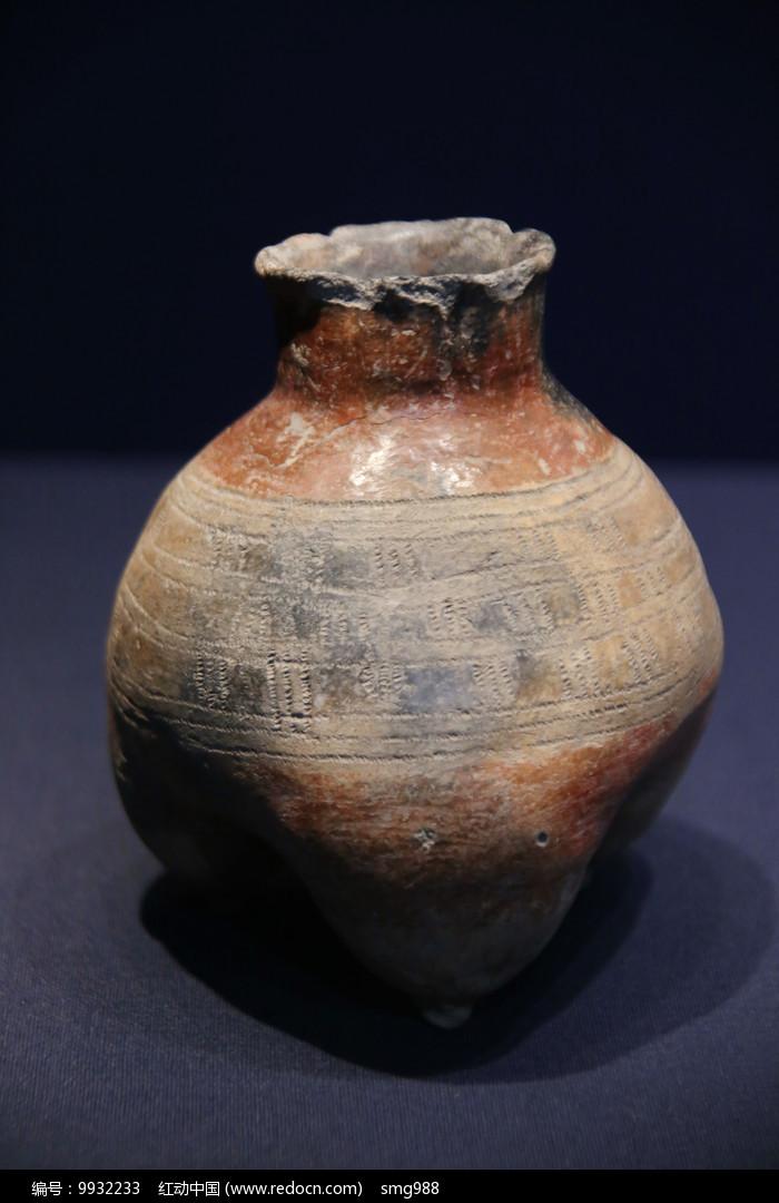 红陶鬲汉代图片