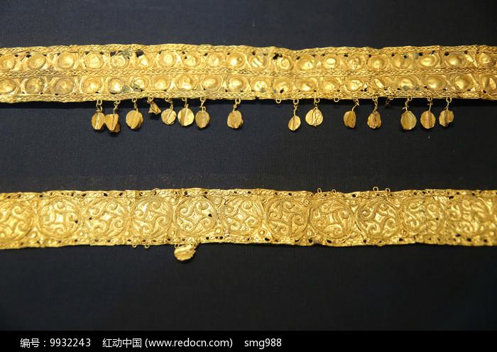 金饰件汉代图片