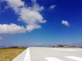 开阔的重庆巫山机场