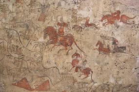 勒川狩猎壁画北魏