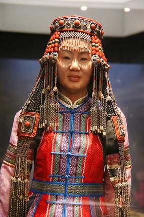 蒙古族民族服饰头饰
