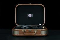 巫1900黑胶唱机内部