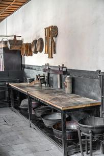 中国农村的厨房