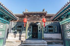 中国山西省乔家大院建筑