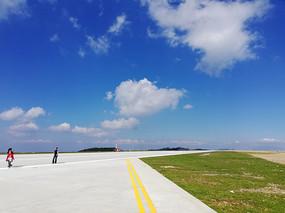 重庆巫山机场风光