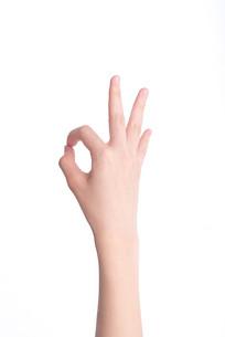 代表确认的手势