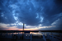 衡水湖站台景观