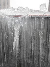 流水型冰柱