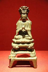 毗卢遮那佛青铜佛像
