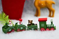 圣诞节火车素材