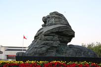 中华雄狮爱国教育狮子雕像