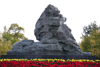 中华雄狮狮子雕像