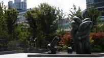 上海刘海粟美术馆雕塑