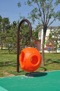 儿童乐园的吊床