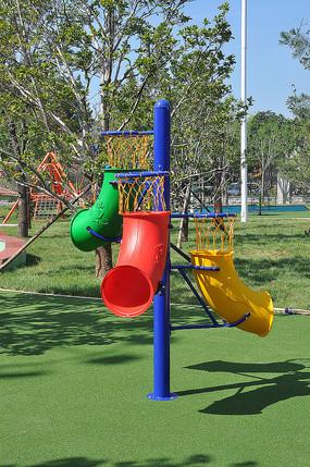 儿童乐园拓展练习儿童篮球